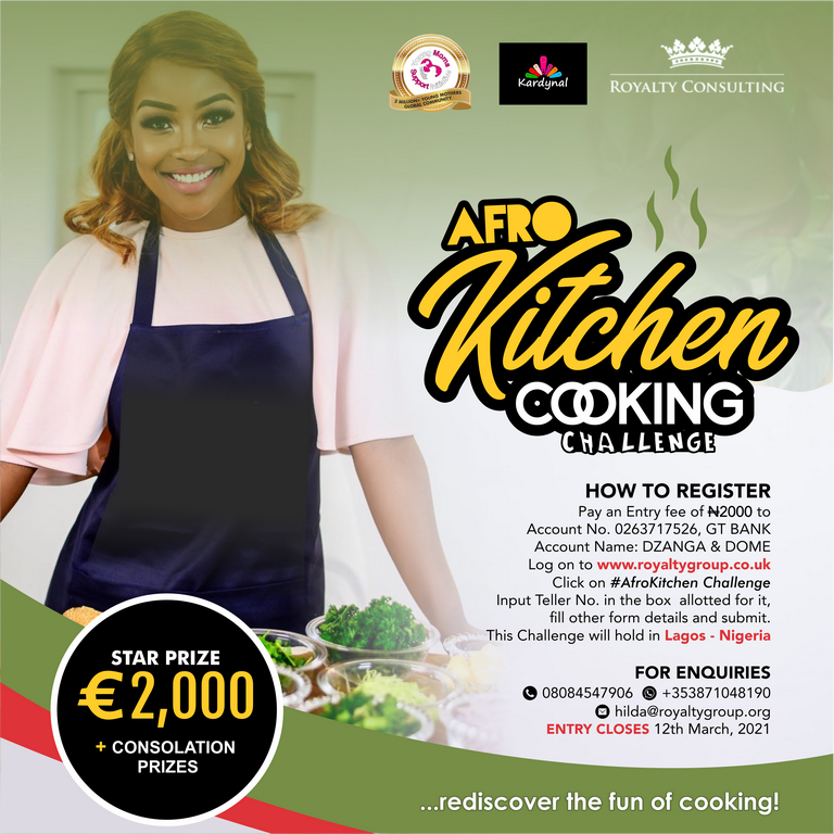 Afro Kitchen Cooking Challenge