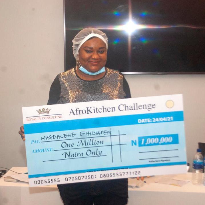 afrokitchen cooking challenge winner